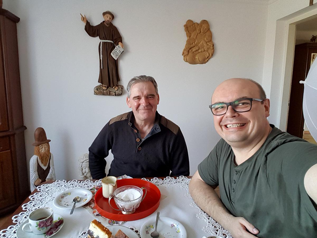 Read more about the article Spotkanie z artystą ludowym panem Józefem Lewkowiczem