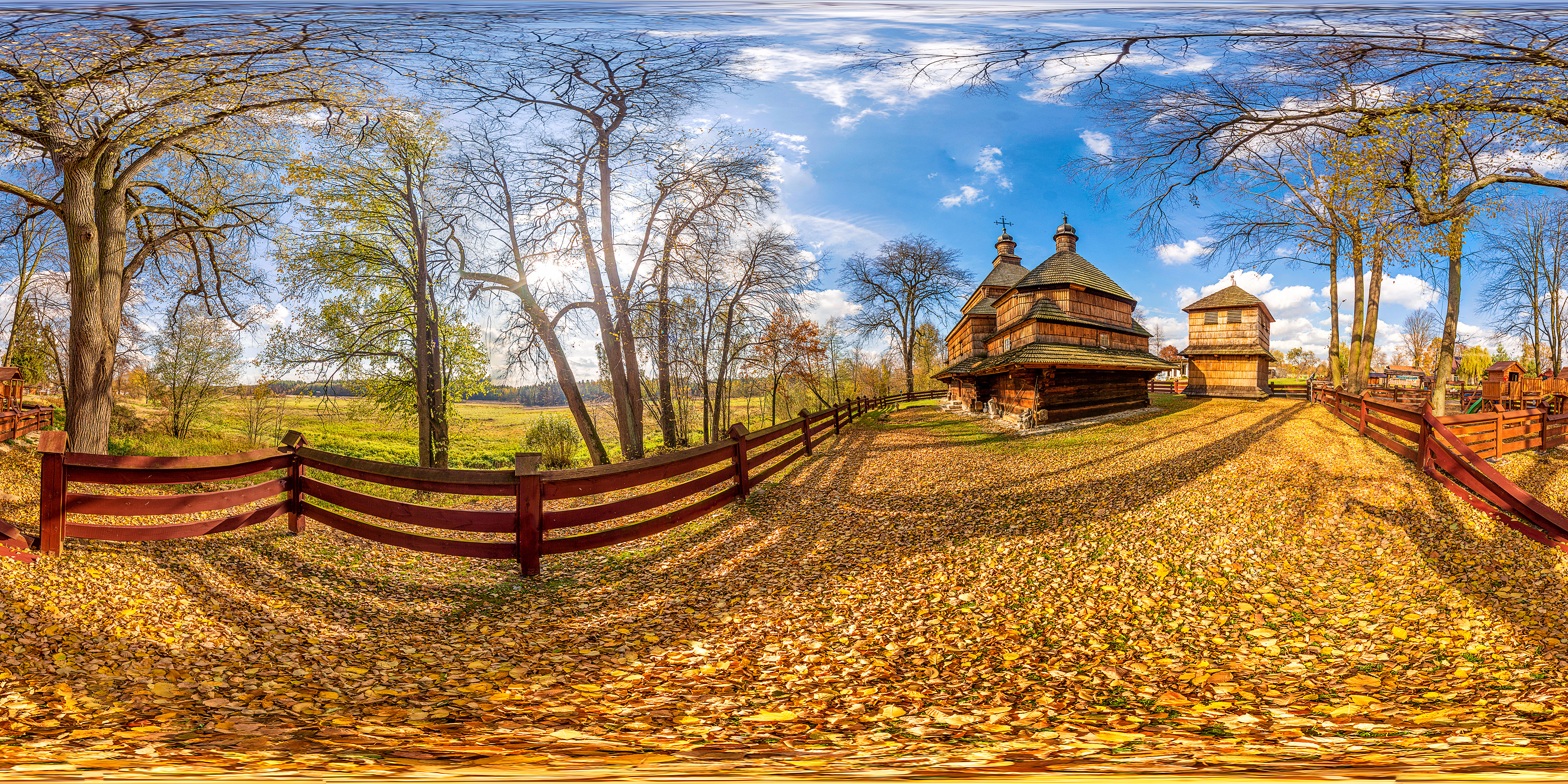 Read more about the article Cerkiew w Gorajcu panorama 360