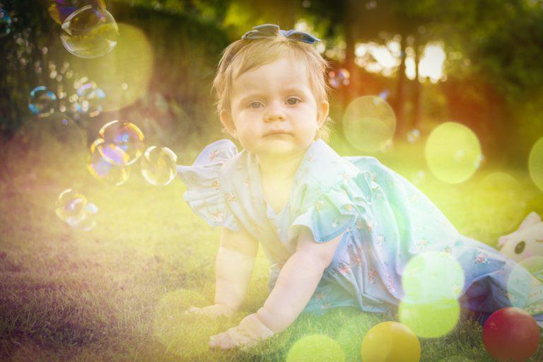 sesja dziecięca na roczek - Zosia